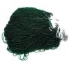 Seedbead 15/0 Transparent Dark Green Strung